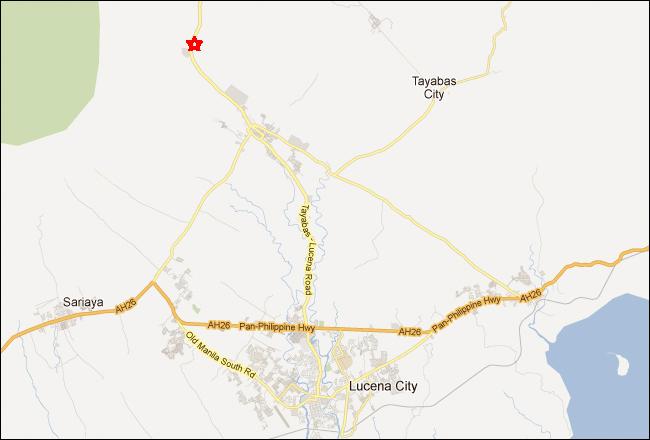 Palaisdaan Restaurant Quezon Map