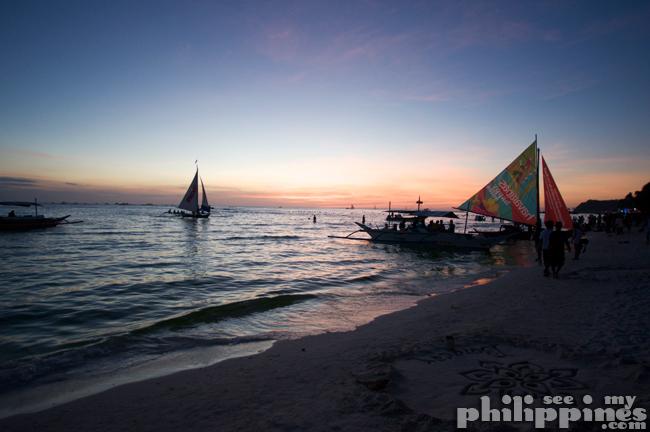 White Beach Boracay Island