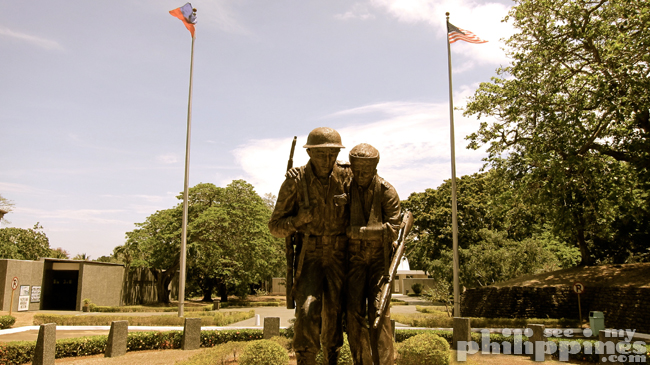 Corredigor Island Philippines Fil-Am Friendship Statue