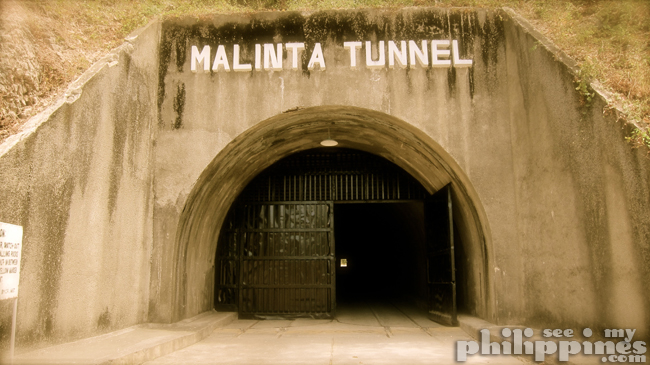 Corredigor Island Philippines Malinta Tunnel