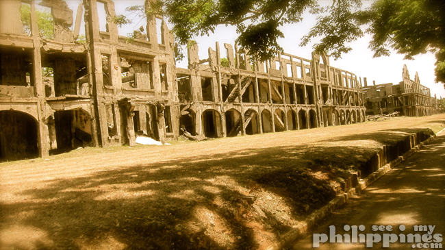 Corredigor Island Philippines Mile Long Barracks