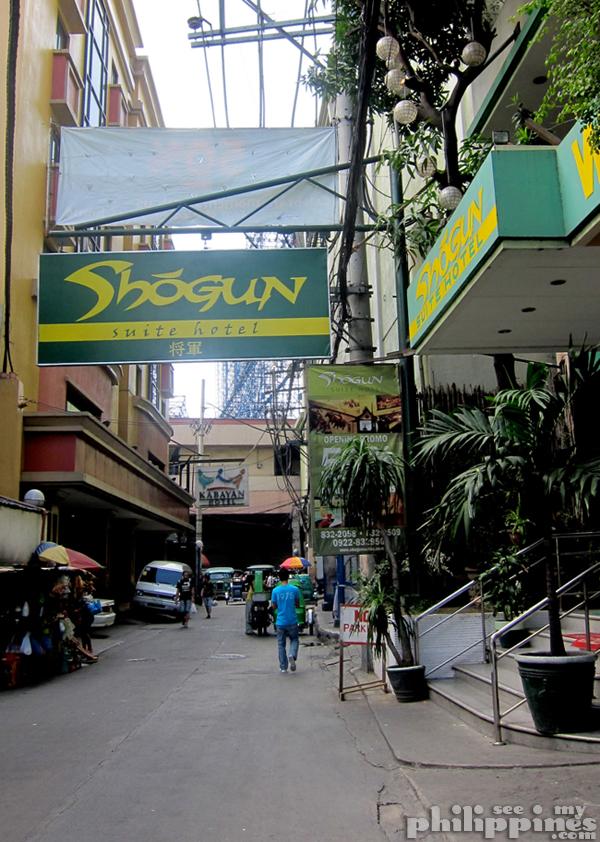 Shogun Suite Hotel Pasay Manila Street
