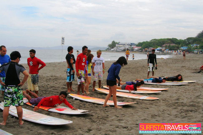 Surfista Travels Lesson